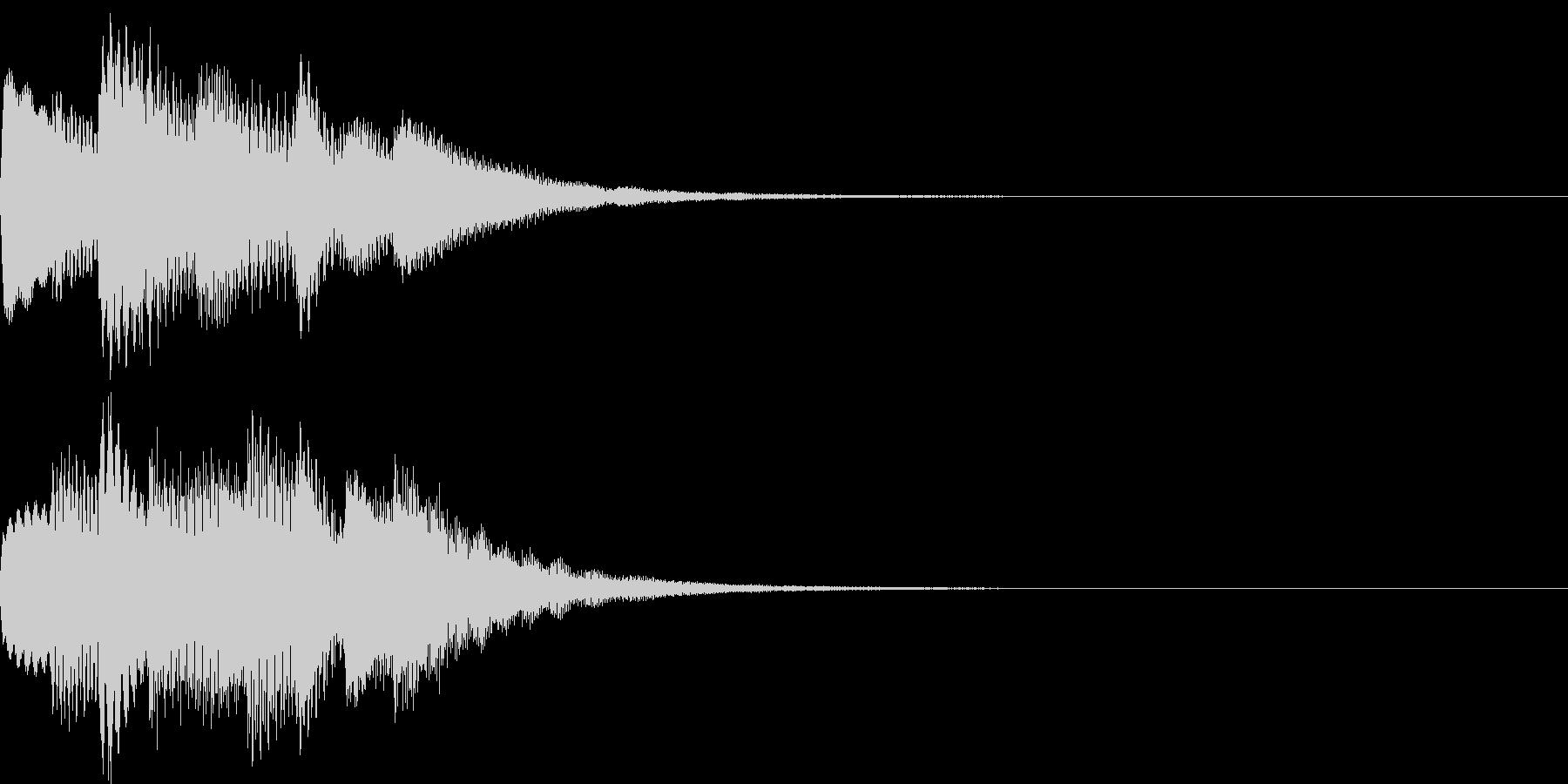 サウンドロゴ09の未再生の波形