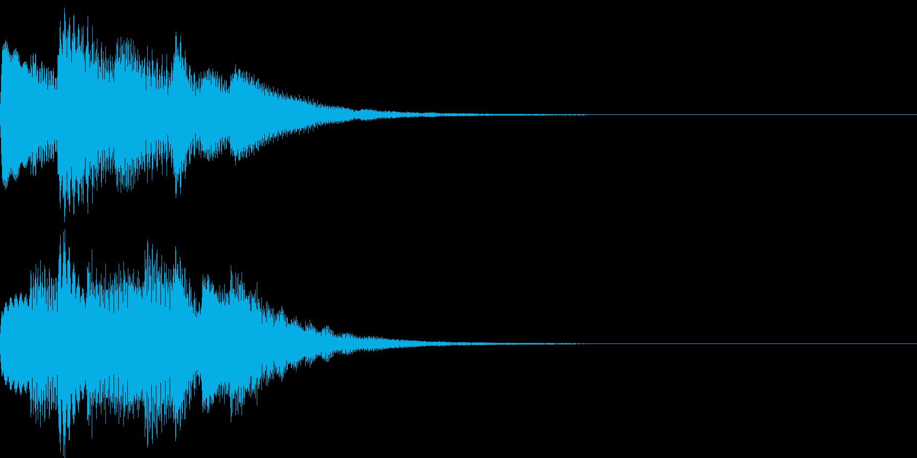 サウンドロゴ09の再生済みの波形