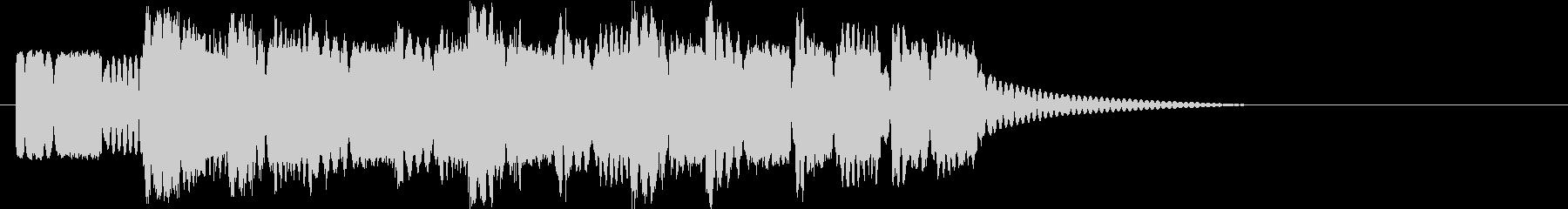 ロボットサウンド 機械音8  の未再生の波形