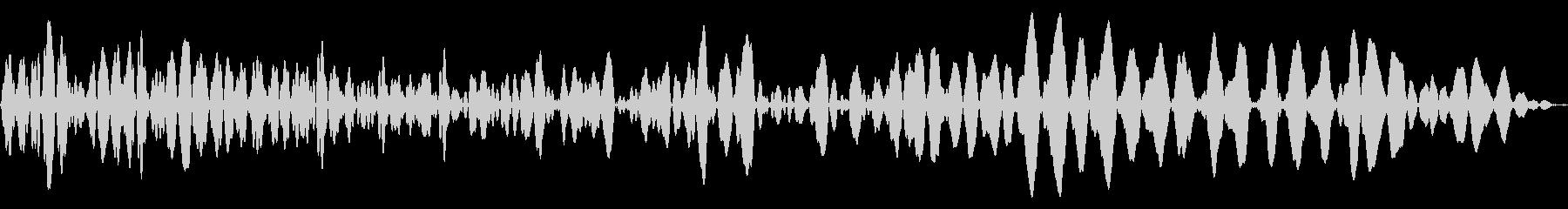 メニュー画面音(ウインドウ,決定等)14の未再生の波形