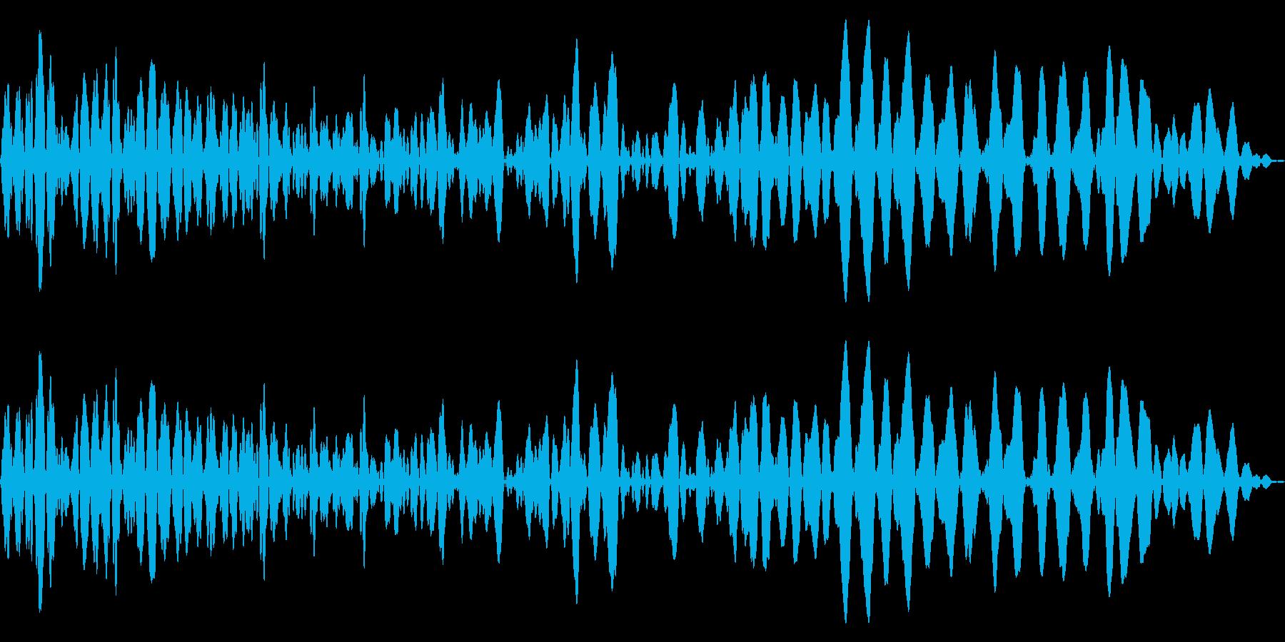 メニュー画面音(ウインドウ,決定等)14の再生済みの波形
