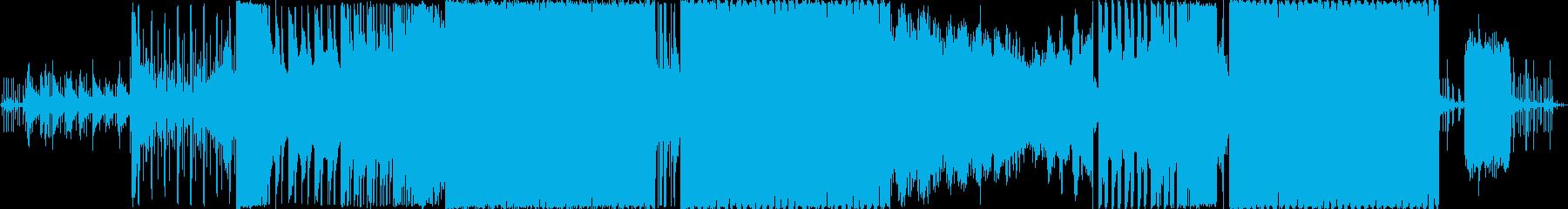 EDMなパッヘルベルのカノンの再生済みの波形