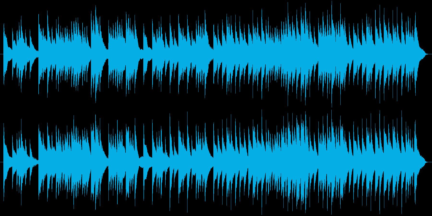 お正月の歌「お正月」琴バージョンの再生済みの波形