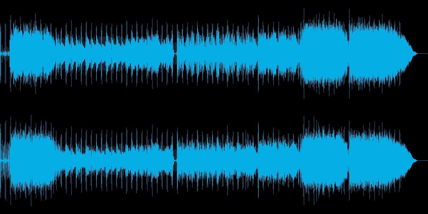 ギターの旋律が切ないバラードの再生済みの波形