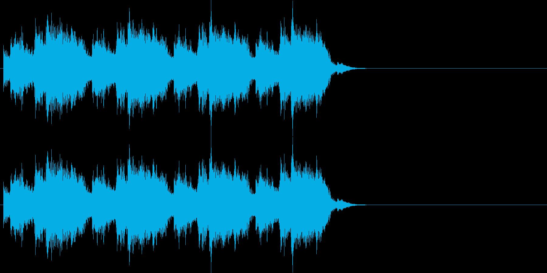 ジリリリリン (固定電話の音)の再生済みの波形