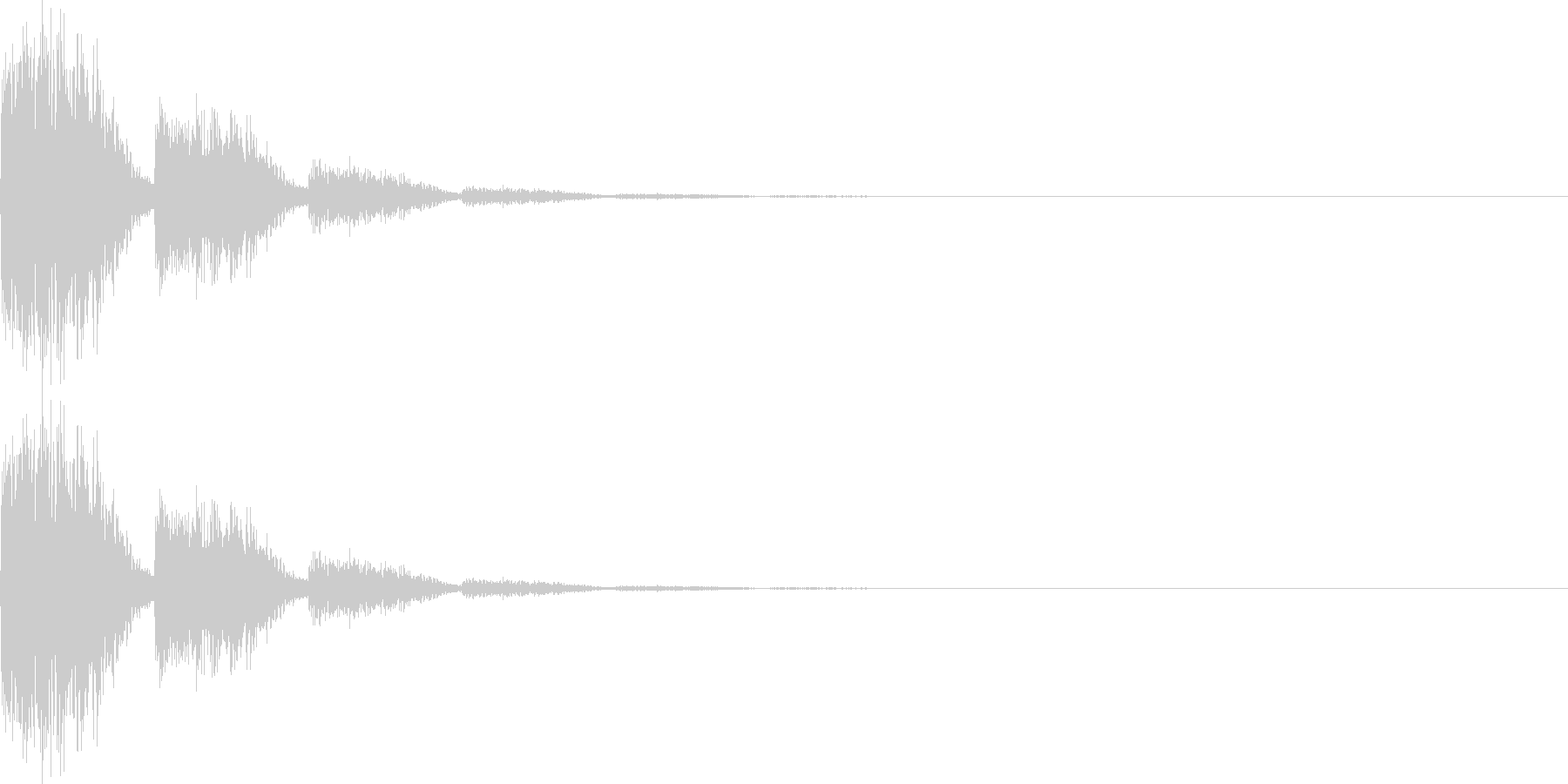 ビビ(キャンセル、ミス、失敗)の未再生の波形