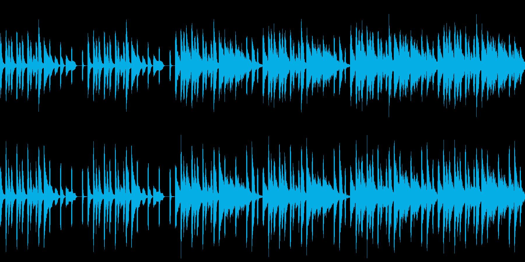 引っ越し新生活な曲(ループ仕様)の再生済みの波形