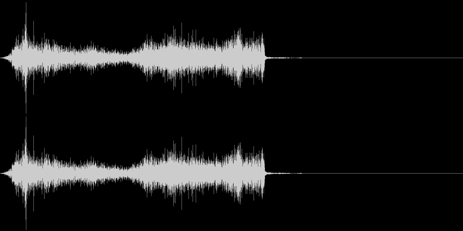 タブ切り替え時の音(紙を擦る音)_02の未再生の波形