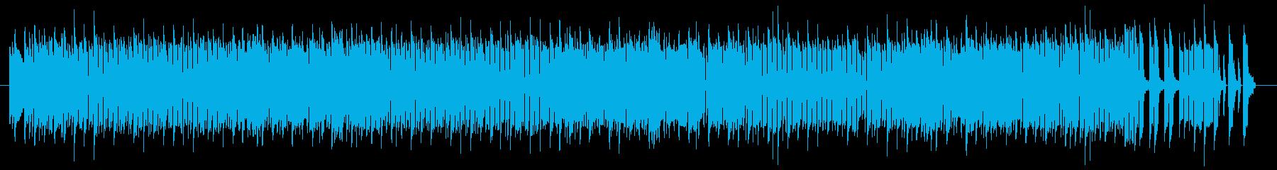 【FC実機】アクションゲームのタイトル曲の再生済みの波形