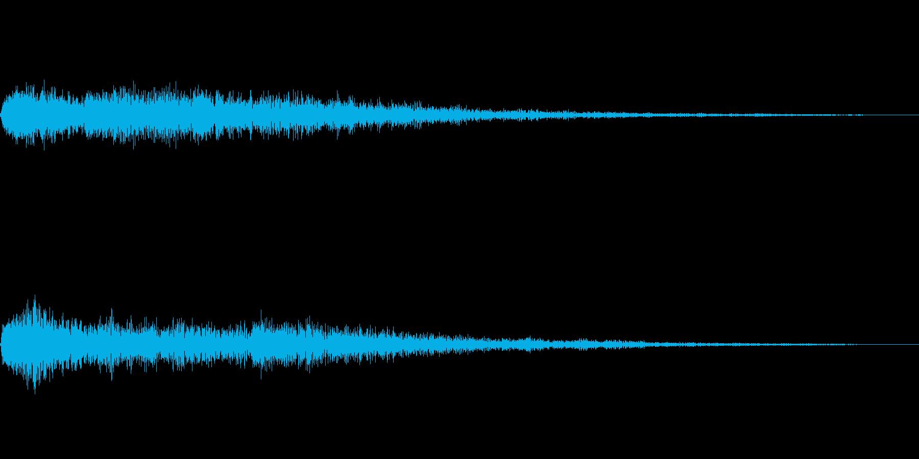 [ヒュオーン]魔法、無効化(低く短い)の再生済みの波形