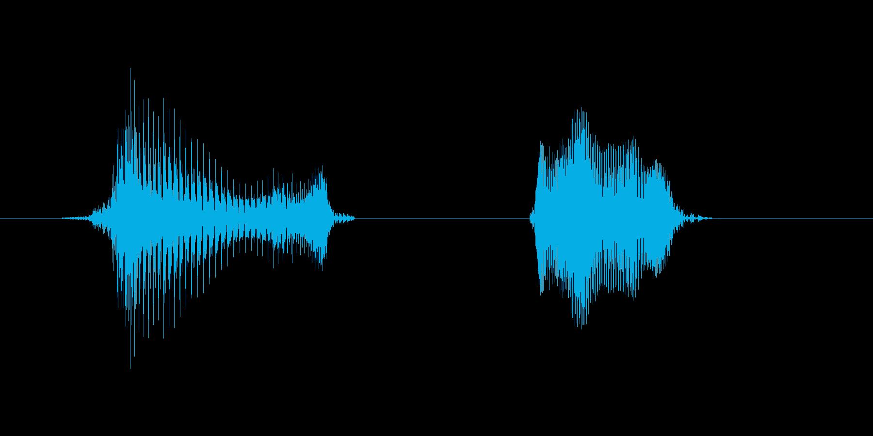 ゲット!の再生済みの波形