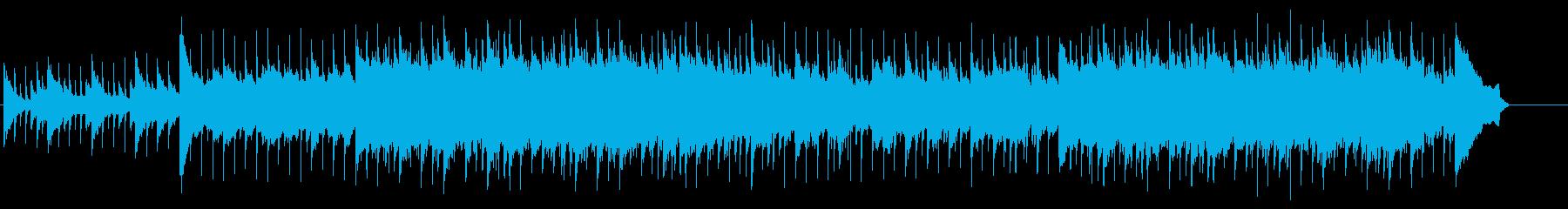 結婚式ブライダル向けの感動できるBGMの再生済みの波形