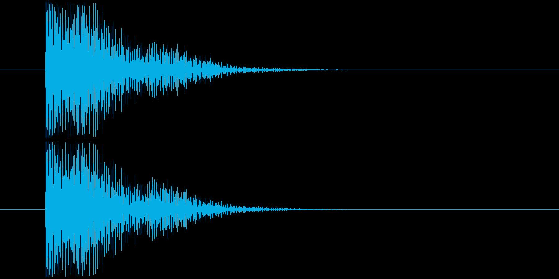 コント鉄板_コケるの再生済みの波形