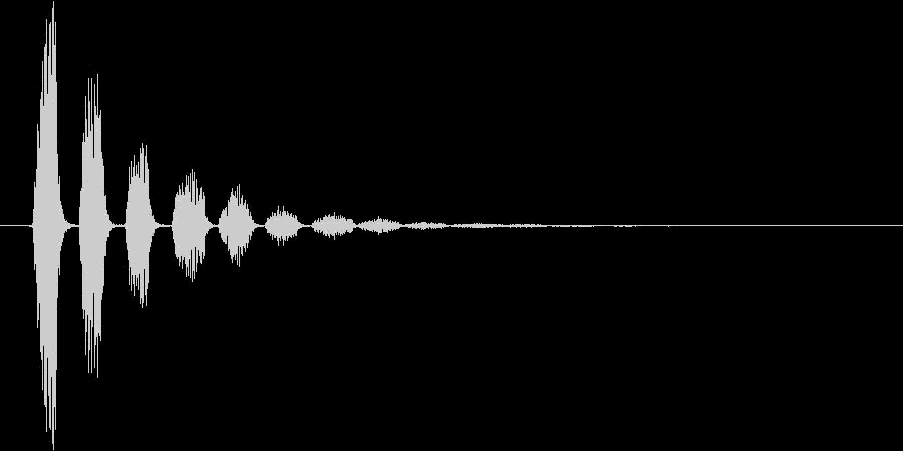ピロリロ↓(流れ星、キラキラ、下降系)の未再生の波形