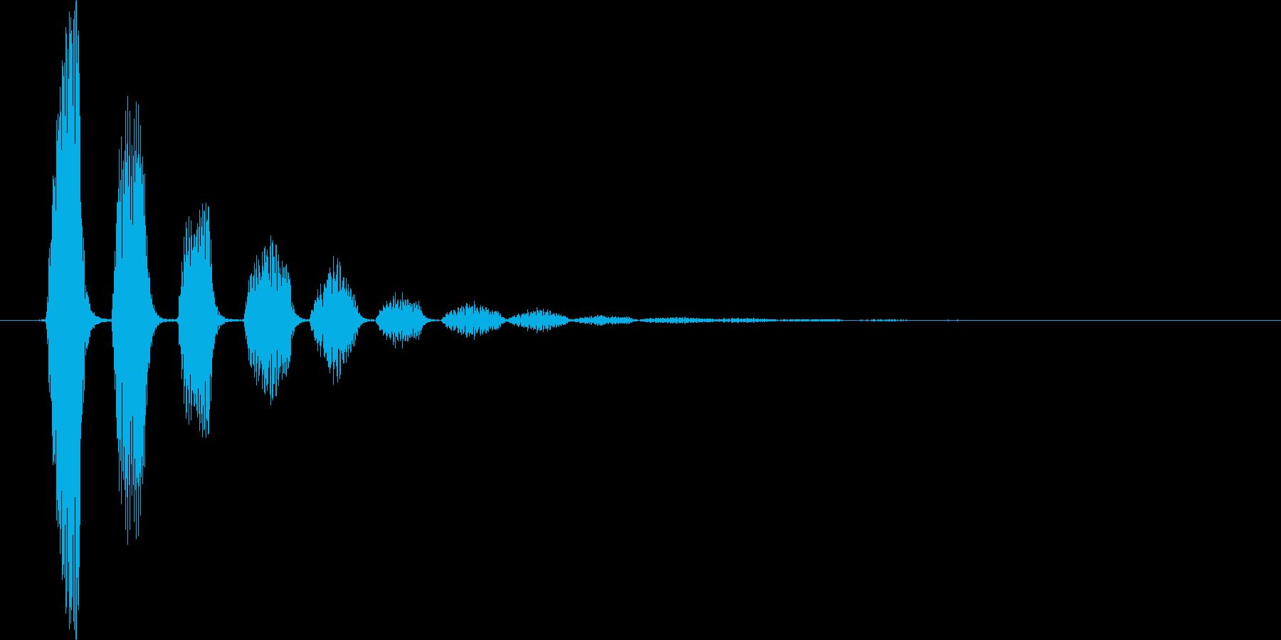 ピロリロ↓(流れ星、キラキラ、下降系)の再生済みの波形