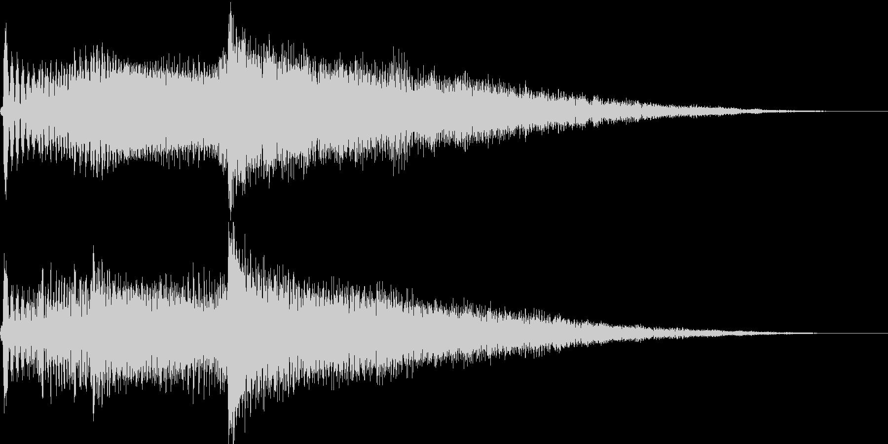 アイキャッチ用ジングル3 - アコギ+αの未再生の波形