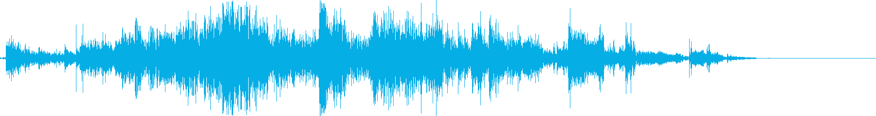鎖鎌を投げるの再生済みの波形