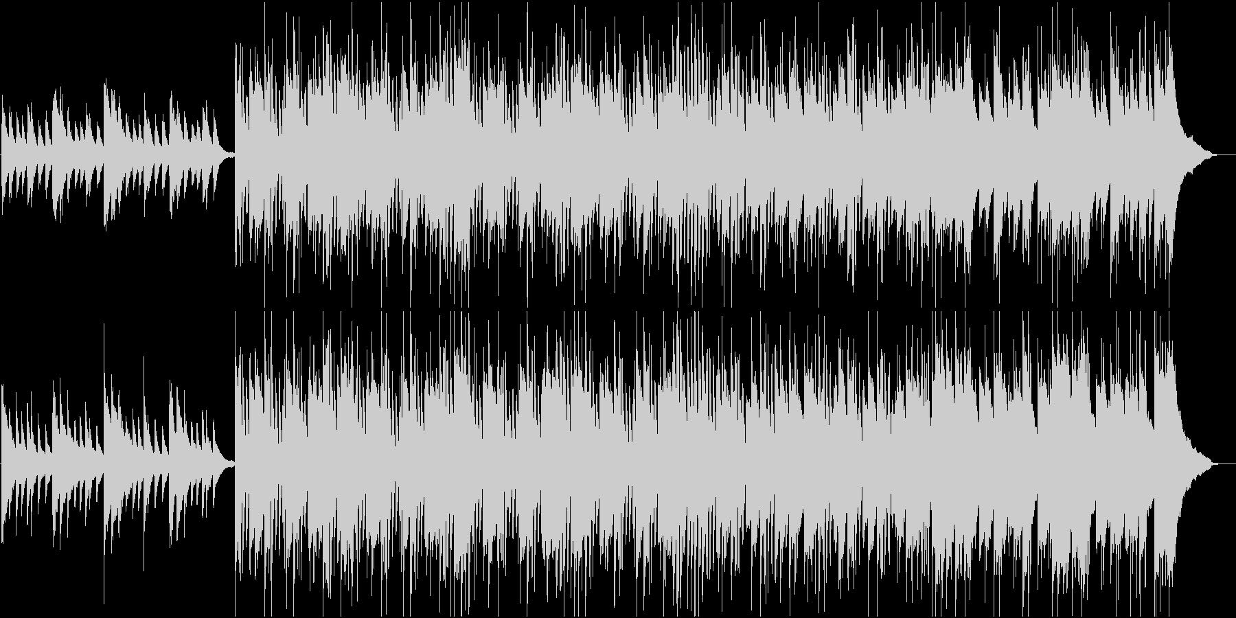 情熱的な雰囲気の疾走ピアノロックの未再生の波形