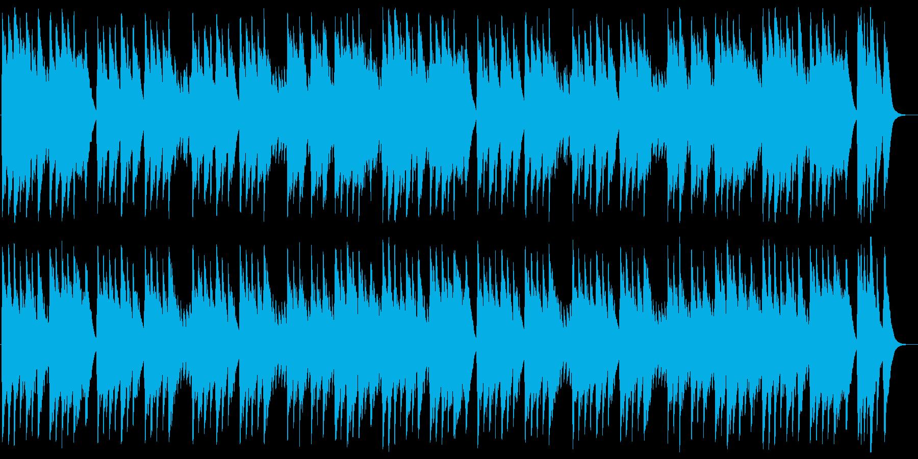 オーラ・リー(ラブ・ミー・テンダー)の再生済みの波形