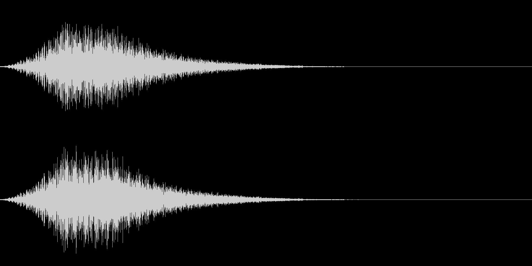 ワープ/瞬間移動/宇宙船/シュイーンの未再生の波形