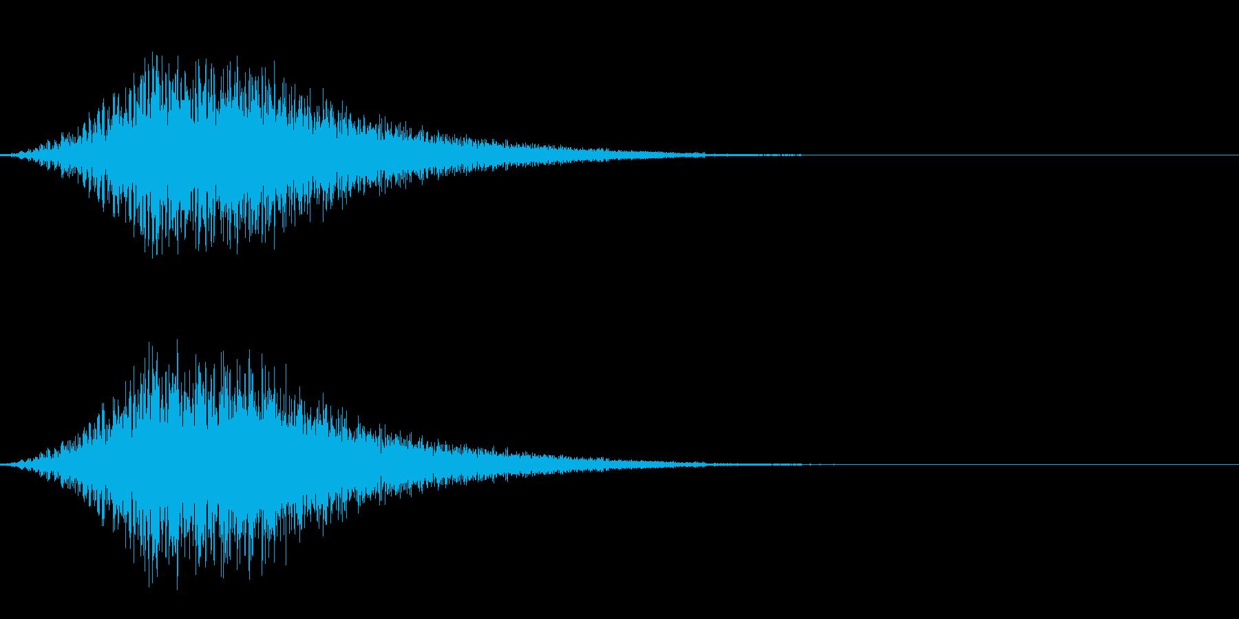 ワープ/瞬間移動/宇宙船/シュイーンの再生済みの波形