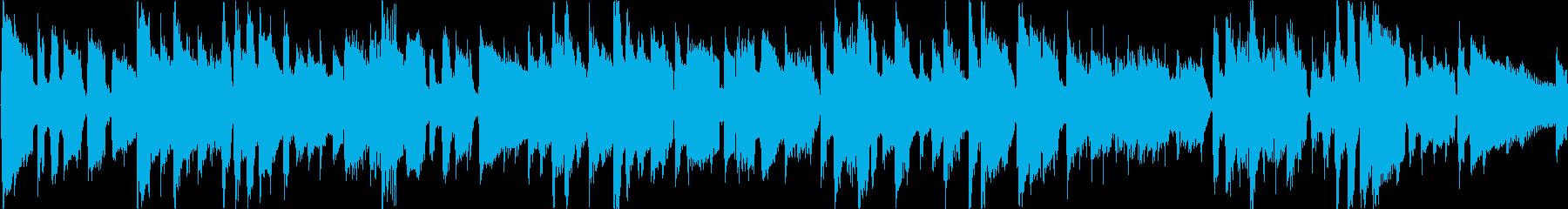 30秒の元気で爽やかなアコギのポップスの再生済みの波形