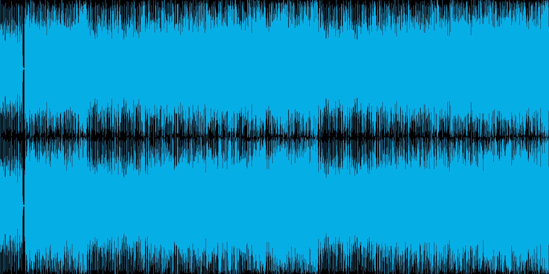 ちょっとダサいソウルフルなハウスの再生済みの波形