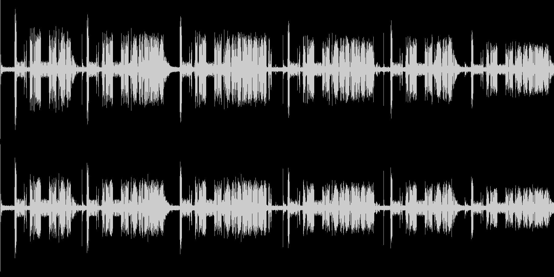 【無線,ラジオ】ノイズ,ザザー,ジジーの未再生の波形