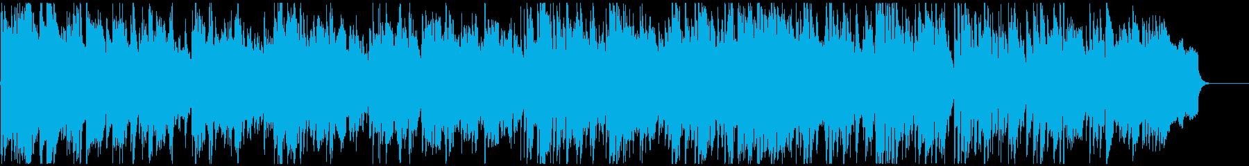 穏やかな低音メロディの落ち着いたボサノバの再生済みの波形