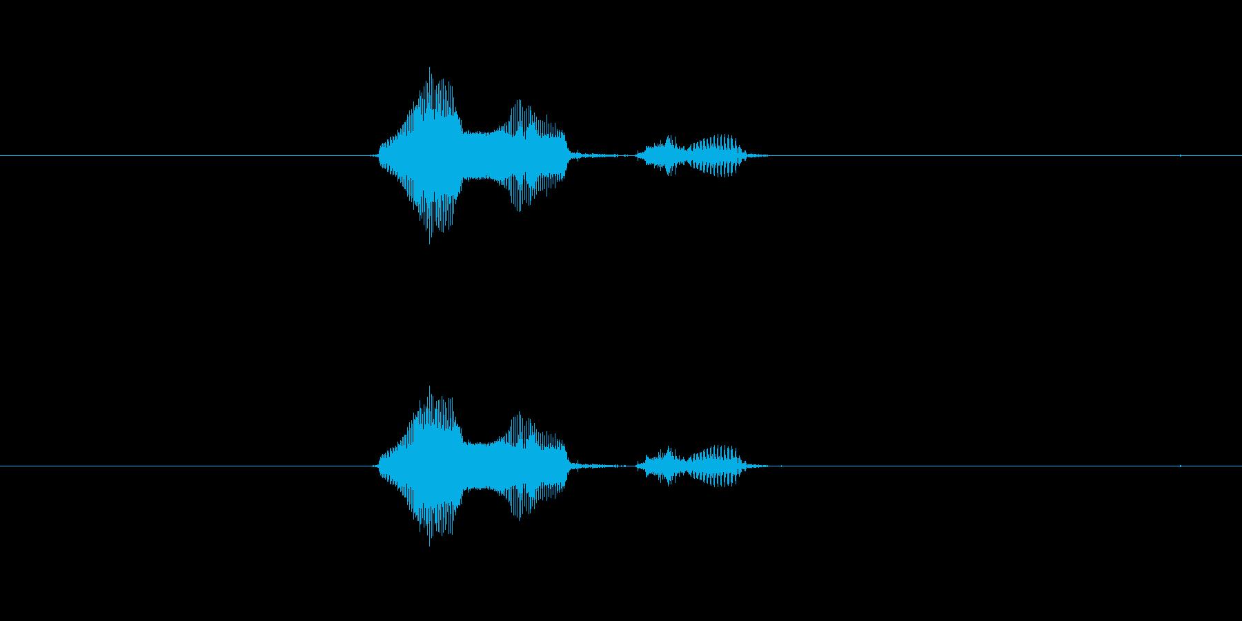 2月の再生済みの波形