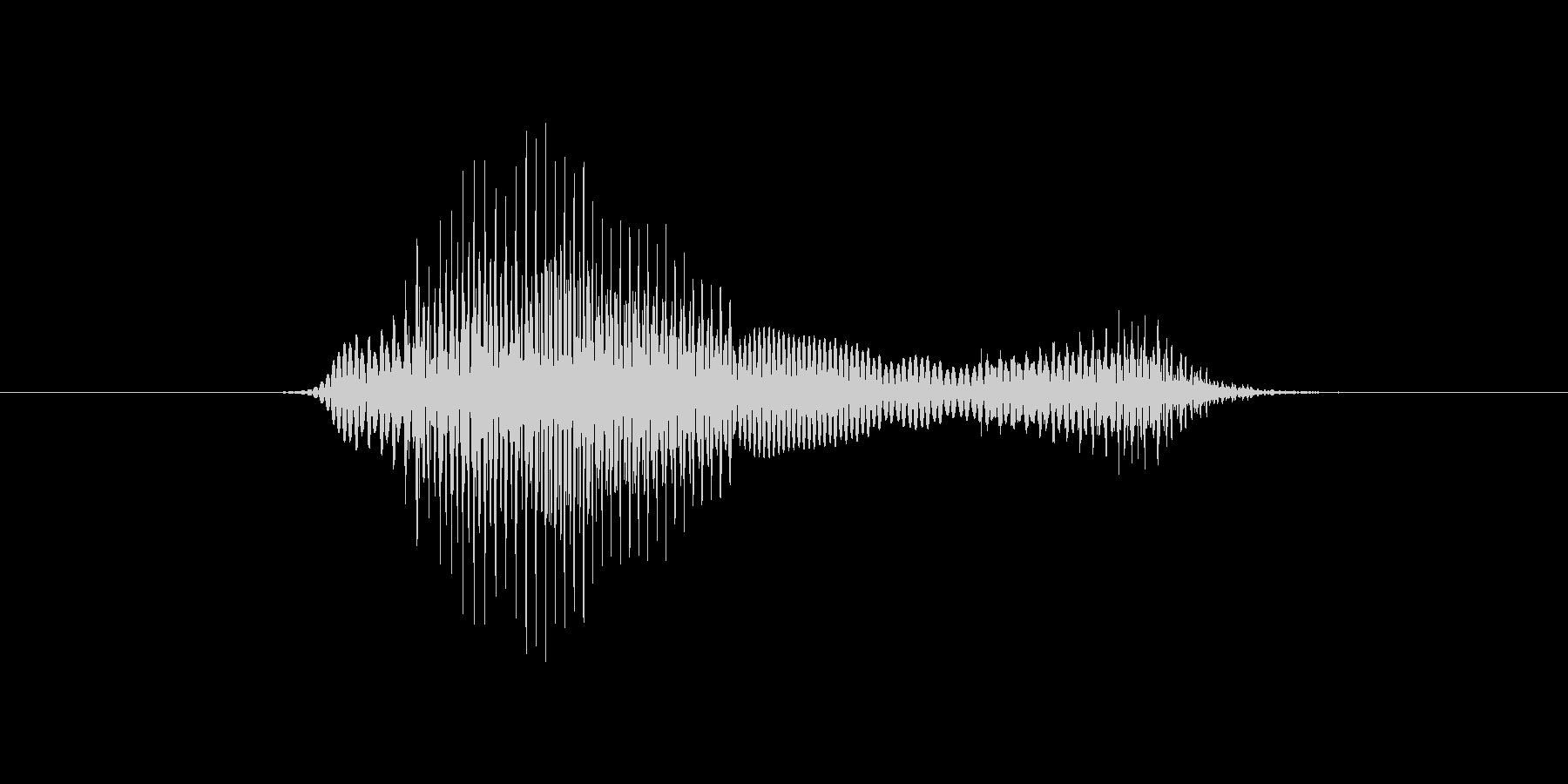7(7、なな)の未再生の波形