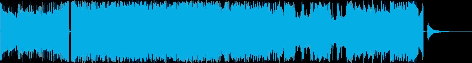 EDM.ロック.企業用CM等の再生済みの波形