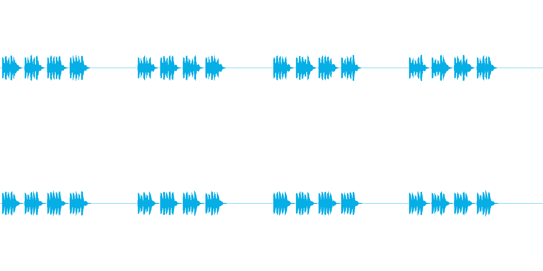 【携帯電話 着信音01-5L】の再生済みの波形