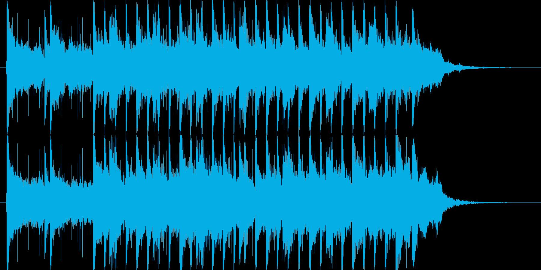 ピアノとストリングスをメインとした。爽…の再生済みの波形