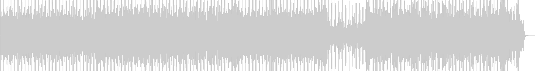 ワクワク感のあるシンセサイザーポップの未再生の波形