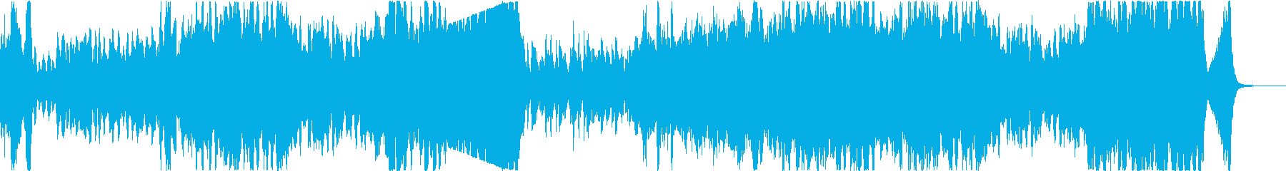 明るいアップテンポなポップオーケストラの再生済みの波形