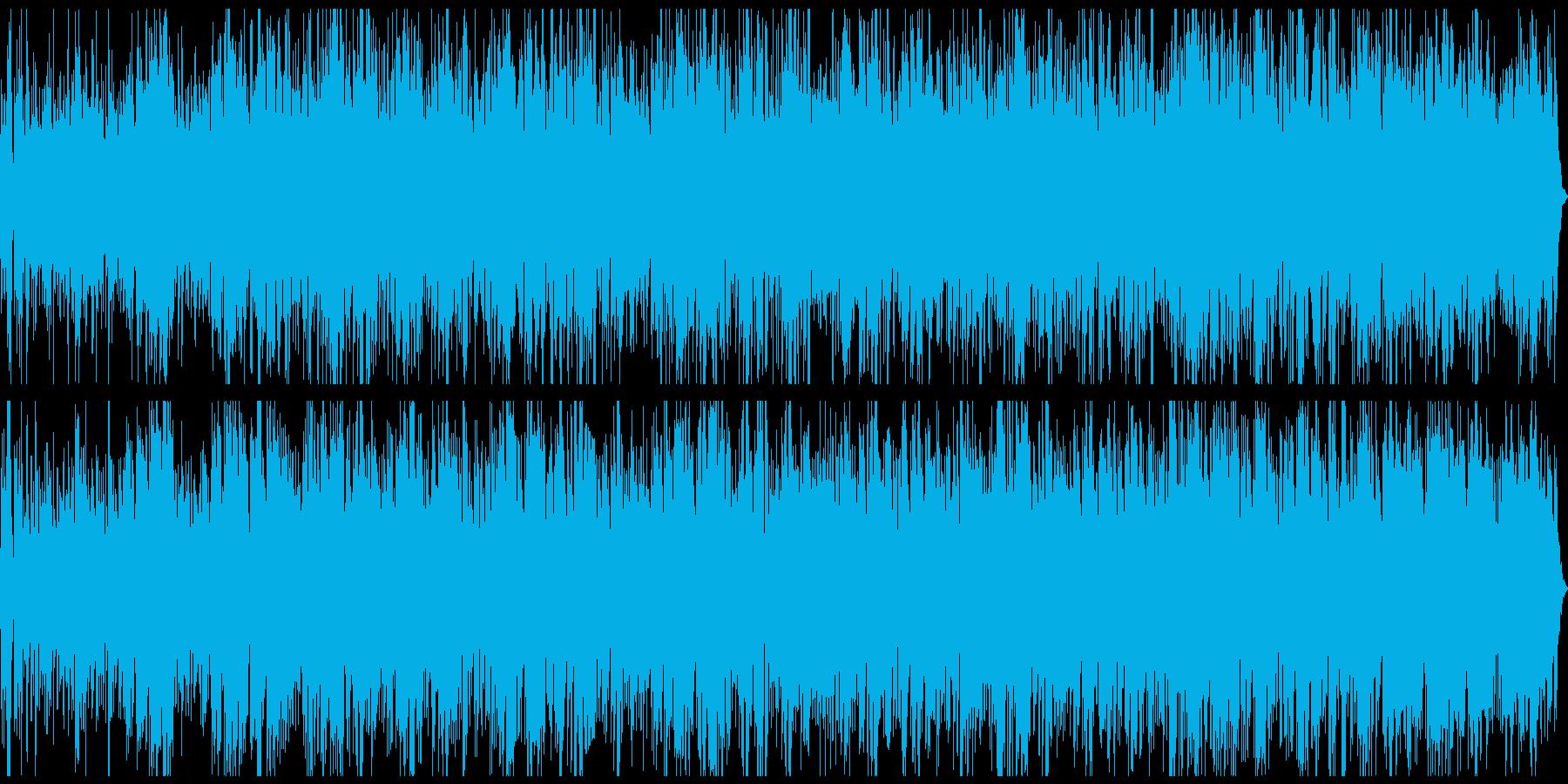 川のせせらぎとピアノのメロディが18分の再生済みの波形