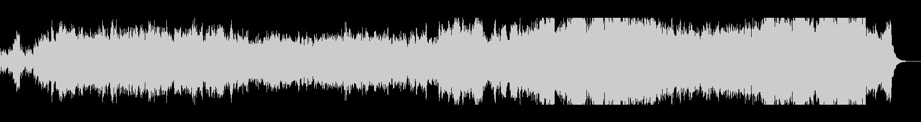 オーケストラと大正琴のイージーリスニングの未再生の波形