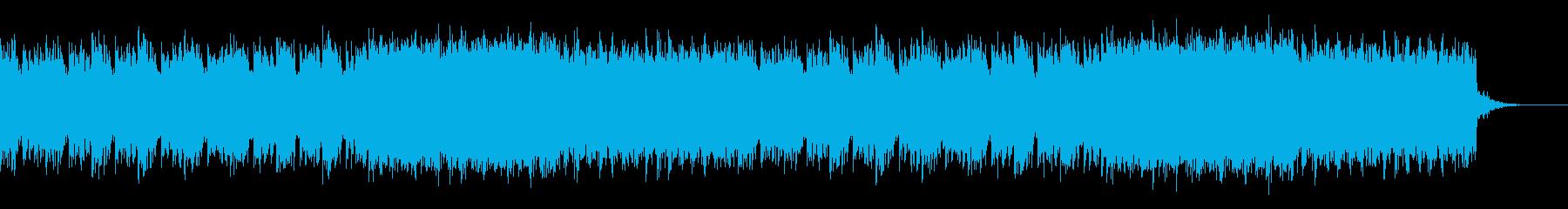 メロディーの再生済みの波形