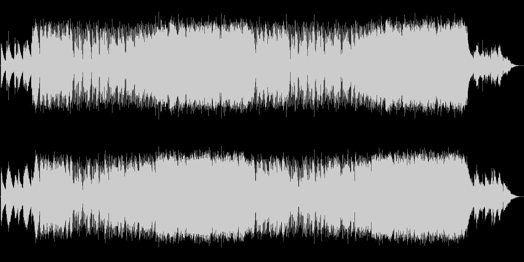 前向きな気持ちになるピアノポップスの未再生の波形