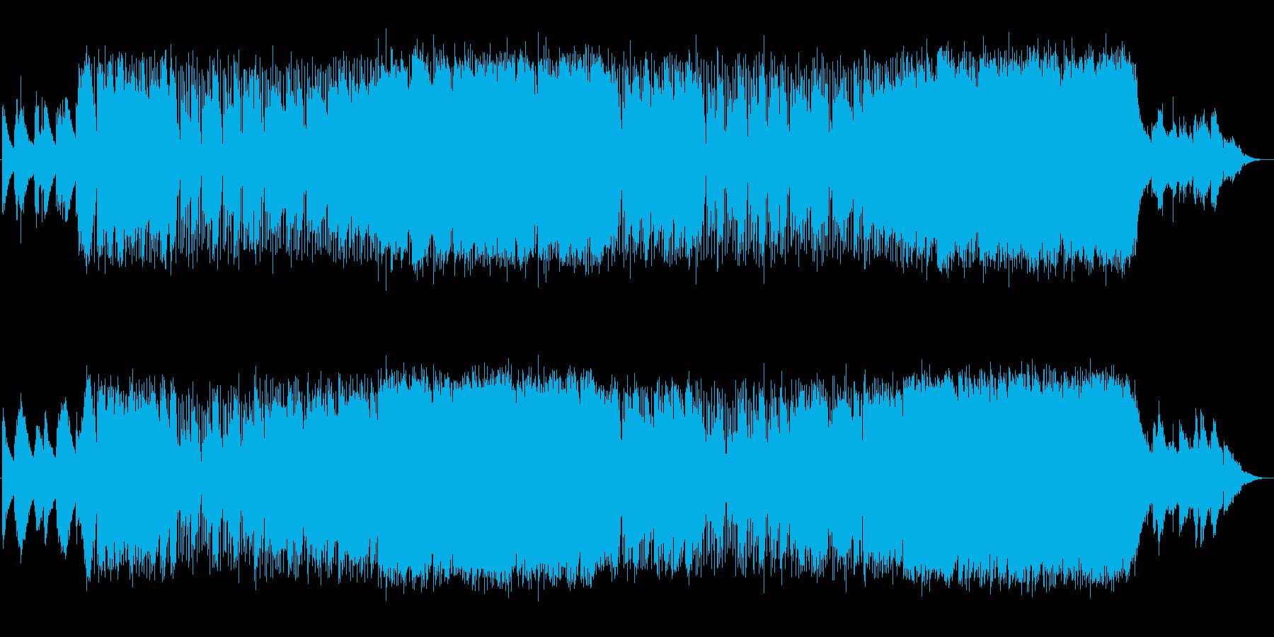 前向きな気持ちになるピアノポップスの再生済みの波形
