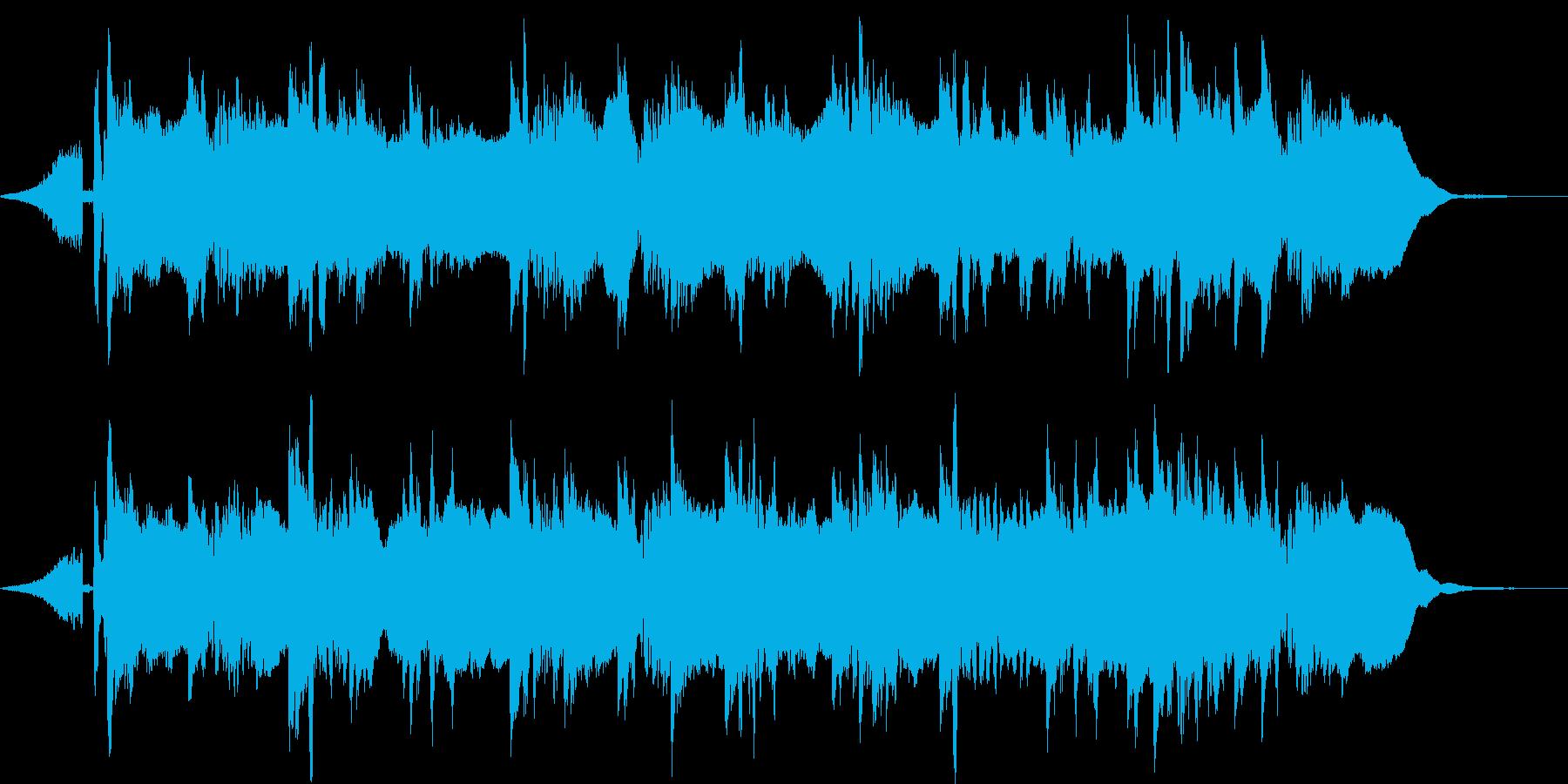 45秒ソング EDM ギターの再生済みの波形