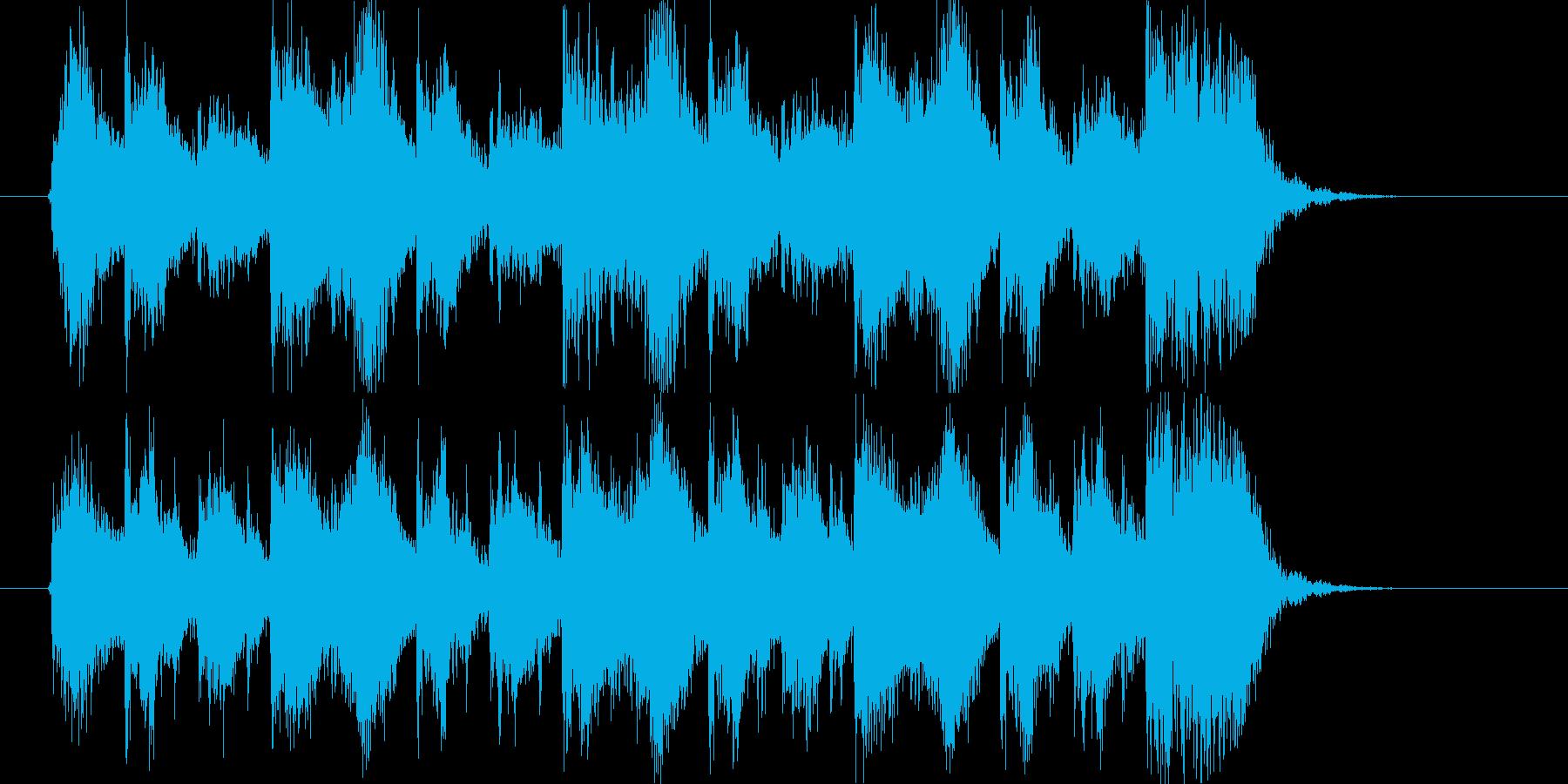 オーケストラ調のアレンジですがそこまで…の再生済みの波形