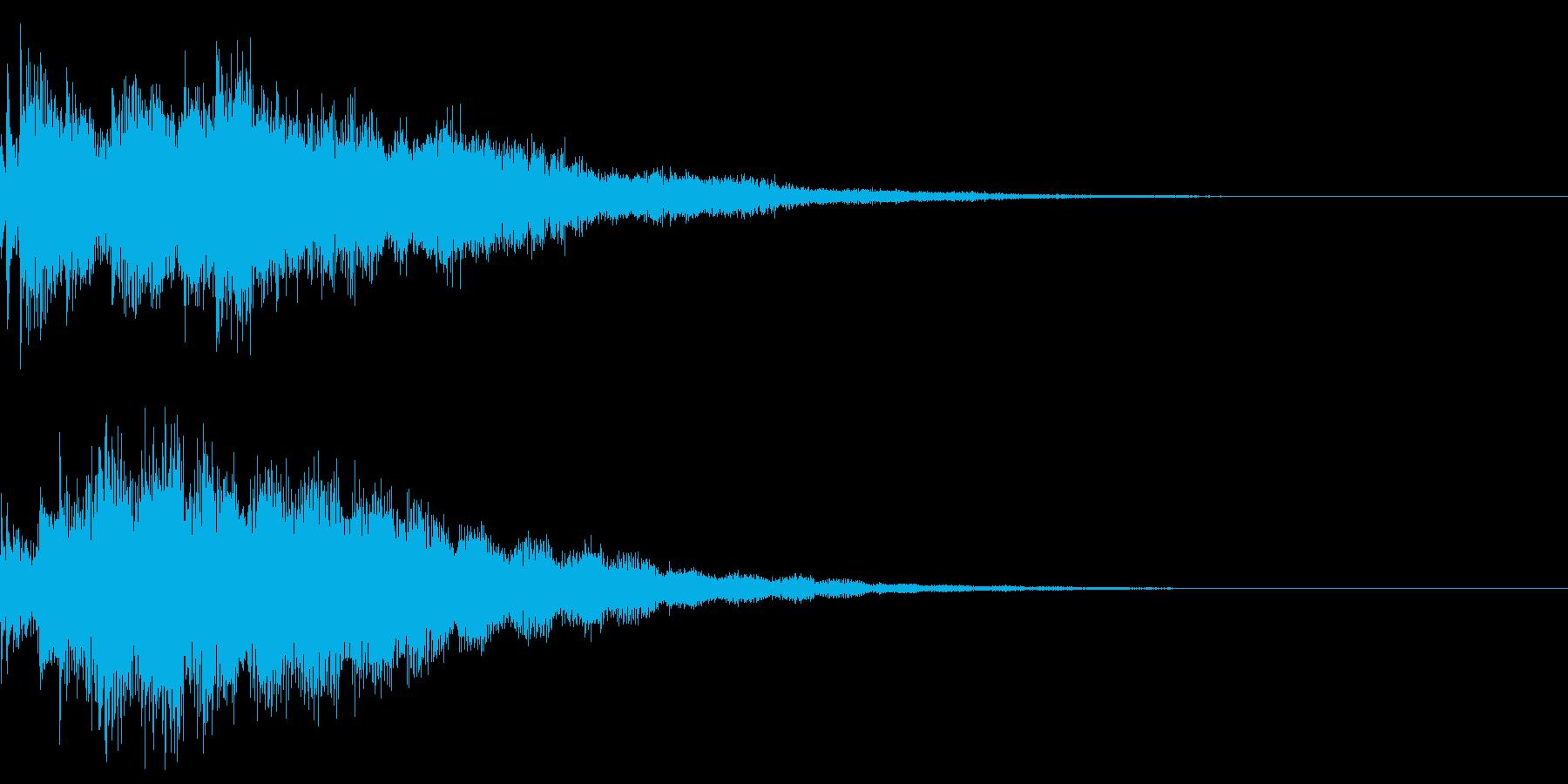 サウンドロゴ47_シンセの再生済みの波形