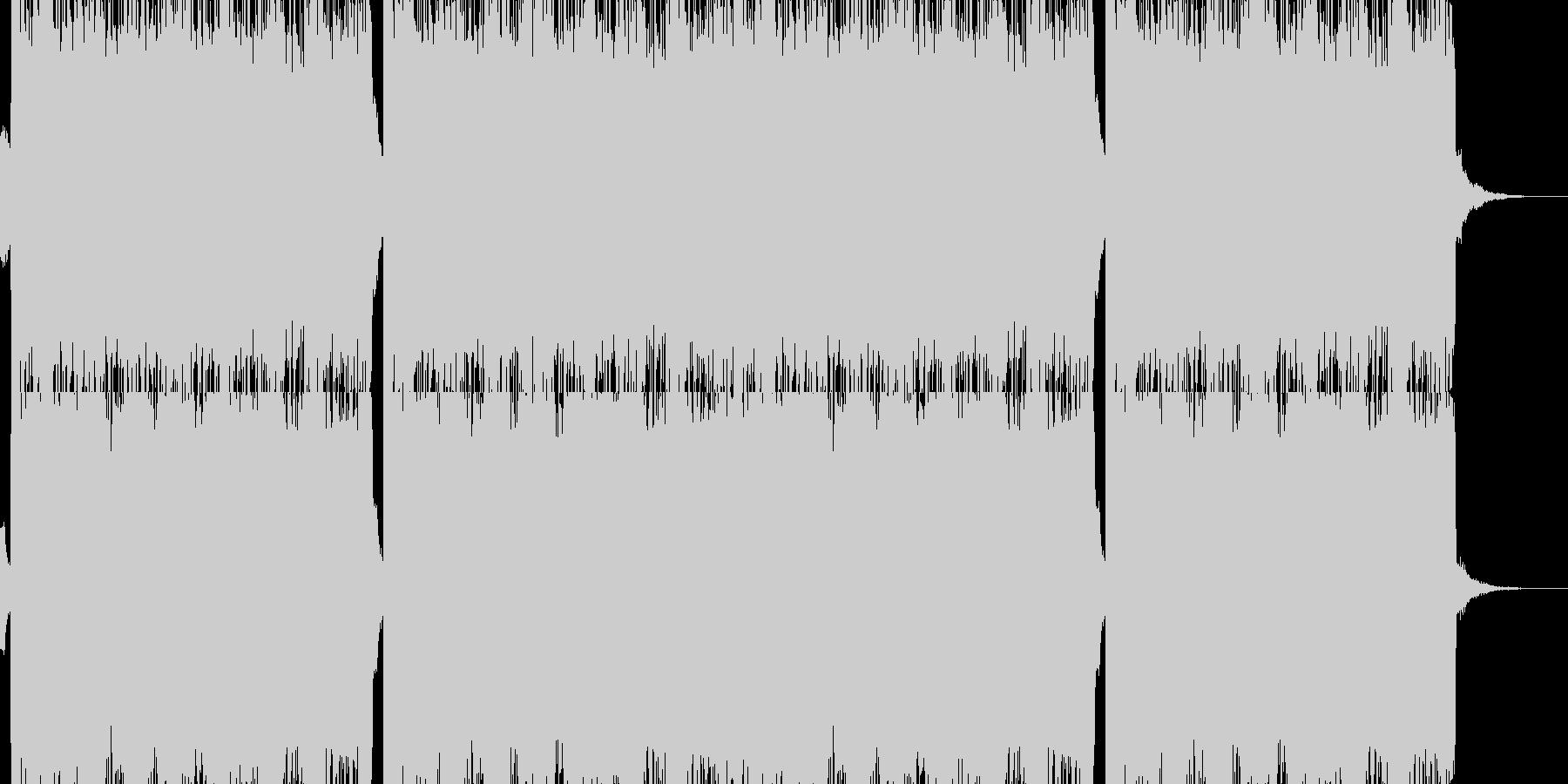 ギター ロック 感動的の未再生の波形