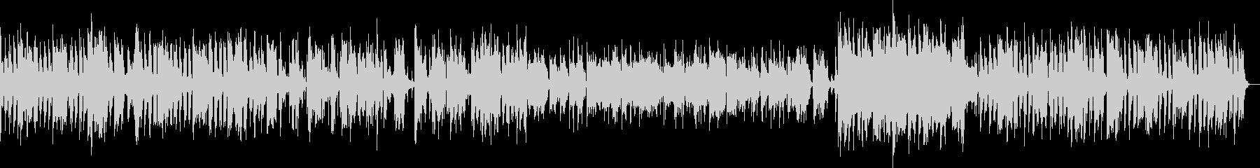 だらしない感じのトロンボーン(ジャズ)の未再生の波形