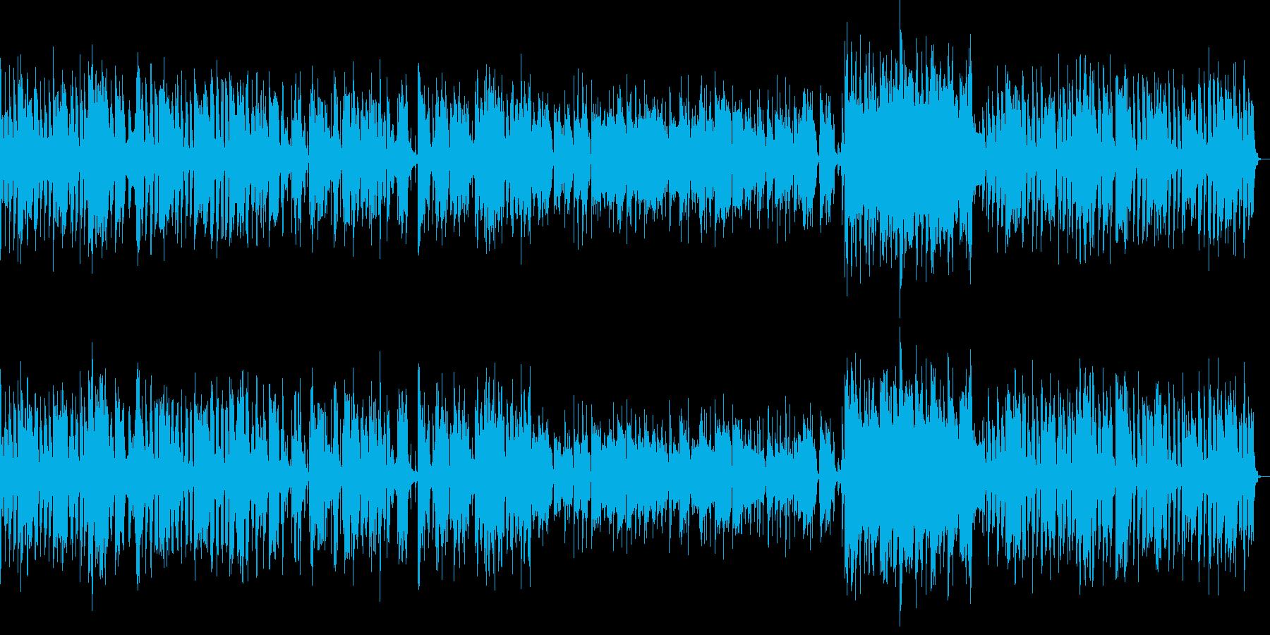 だらしない感じのトロンボーン(ジャズ)の再生済みの波形