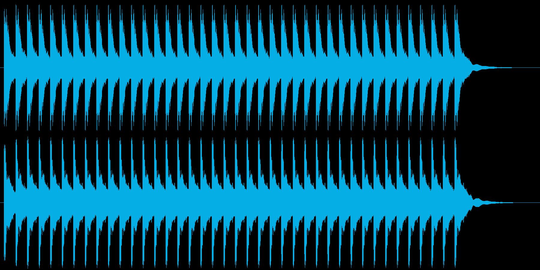 教会の鐘 タイプBの再生済みの波形