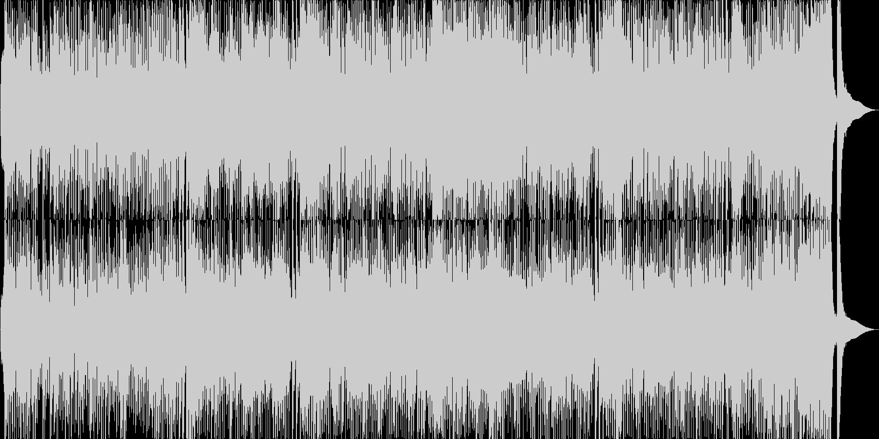 大正昭和浪漫風のサロン的な楽曲の未再生の波形