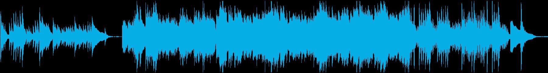 月/夜/ピアノソロ BGMの再生済みの波形